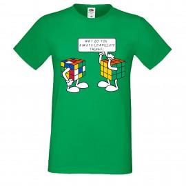 """Мъжка тениска с щампа """"Complicated Things"""""""