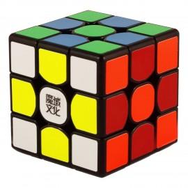Куб за скоростно нареждане MoYu WeiLong GTS 3x3x3 56мм - Черен