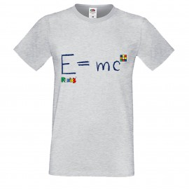 """Мъжка тениска с щампа """"Einstein"""""""