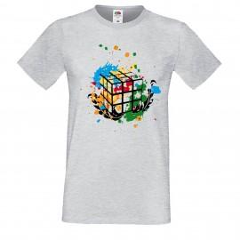 """Мъжка тениска с щампа """"Splatter"""""""