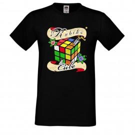 """Мъжка тениска с щампа """"Tattoo 2"""" - Черна"""