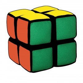 """Плюшена играчка за малки деца """"My first Cube"""""""