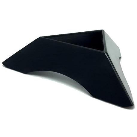 Цветна триъгълна стойка за кубчета - Черна