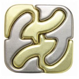 Логически пъзел Cast Square GR6-GR5 - метален
