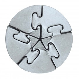 Логически пъзел Huzzle Cast Spiral GR5 - метален
