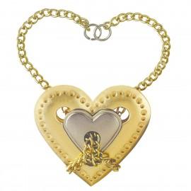 Логически пъзел Cast Heart GR4 - метален