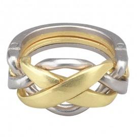 Логически пъзел Huzzle Cast Ring GR4 - метален