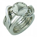 Логически пъзел Cast Ring II GR5 - метален