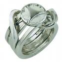 Логически пъзел Huzzle Cast Ring II GR5 - метален