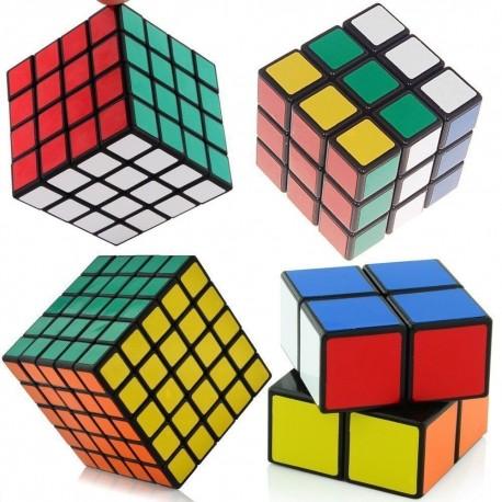 Комплект магически кубове ShengShou 2x2x2, 3x3x3, 4x4x4 и 5x5x5