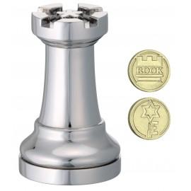 Логически пъзел Huzzle Cast шахматна фигура - Топ