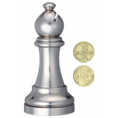 Логически пъзел Huzzle Cast шахматна фигура - Офицер