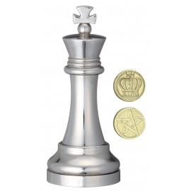Логически пъзел Huzzle Cast шахматна фигура - Цар