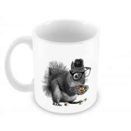 "Керамична чаша 330мл ""Smart Squirrel"""