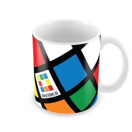 """Керамична чаша 330мл """"Rubik.bg"""""""