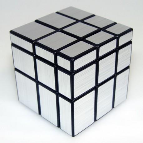 Магически пъзел ShengShou Mirror Blocks 3x3x3 - Сребрист