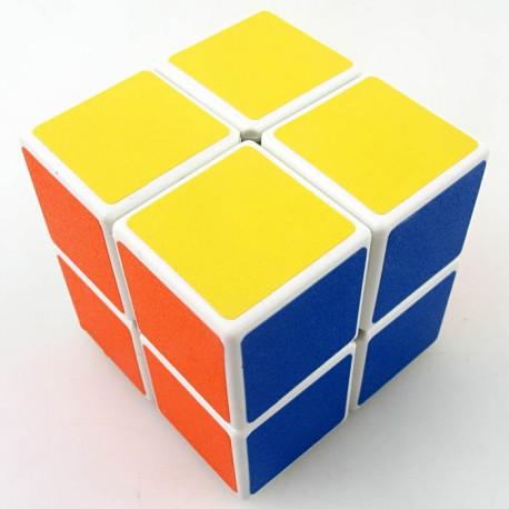 Магически куб ShengShou 2x2x2 50мм - бял