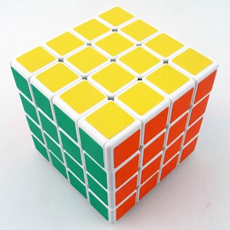 Магически куб ShengShou 4x4x4 60мм - Бял