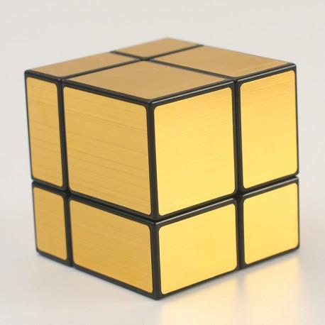 Магически пъзел ShengShou Mirror Blocks 2x2x2 - Златист