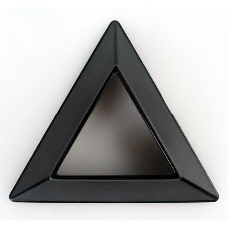 Триъгълна стойка за кубчета - черна