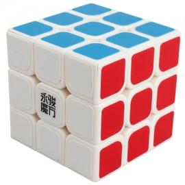 Куб за скоростно нареждане YongJun YuLong 3x3x3 57мм - Бял