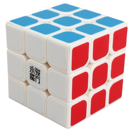 Кубче за скоростно нареждане YongJun YuLong 57мм - Бяло