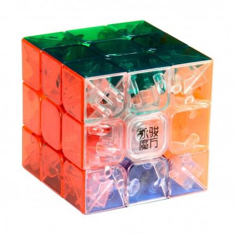 Кубче за скоростно нареждане YongJun YuLong 57мм - Transparent
