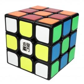 Куб за скоростно нареждане YongJun YuLong 3x3x3 57мм - Черен