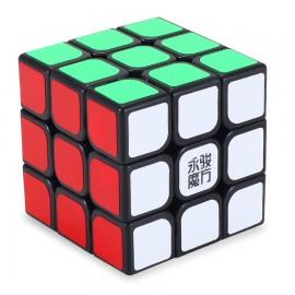 Куб за скоростно нареждане YongJun ChiLong 3x3x3 57мм - Черен