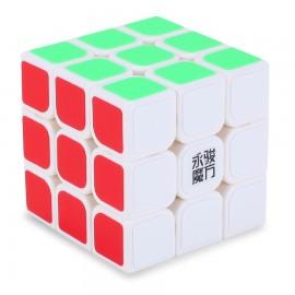 Куб за скоростно нареждане YongJun ChiLong 57мм - Бял