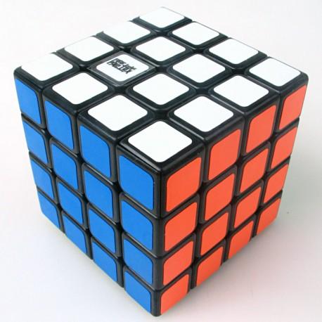 Кубче за скоростно нареждане MoYu AoSu 4x4x4 62.5мм - Черно