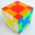 Кубче за скоростно нареждане MoYu AoSu 4x4x4 62мм - Stickerless