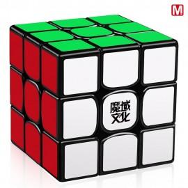 Куб за скоростно нареждане MoYu WeiLong GTS2M V2 3x3x3 55.5мм Magnetic - Черен