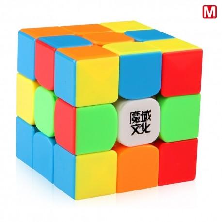 Кубче за скоростно нареждане MoYu WeiLong GTS2M V2 Magnetic 55.5мм - Stickerless