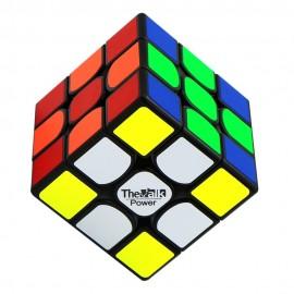 Куб за скоростно нареждане QiYi Valk3 Power 3x3x3 55.5мм - Черен