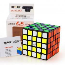Кубче за скоростно нареждане QiYi MoFangGe WuShuang 5x5x5 62мм - Черно