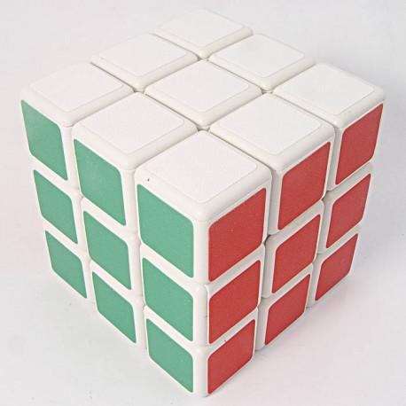 Магически куб ShengShou 3x3x3 57мм - Бял