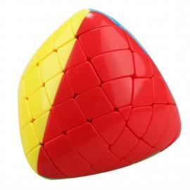 Магически пъзел ShengShou пирамиден мастърморфикс 5x5x5 - Stickerless