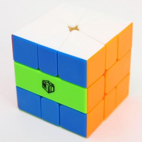Магически пъзел за скоростно нареждане QiYi X-Man Design Volt Square-1 - Stickerless