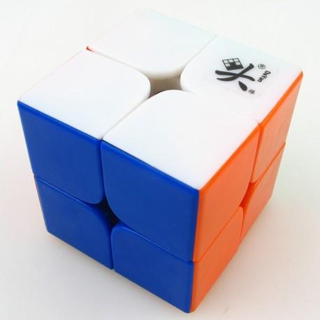 Кубче за скоростно нареждане DaYan ZhanChi 2x2x2 50мм - Stickerless