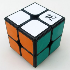 Куб за скоростно нареждане DaYan ZhanChi 2x2x2 50мм - Черен