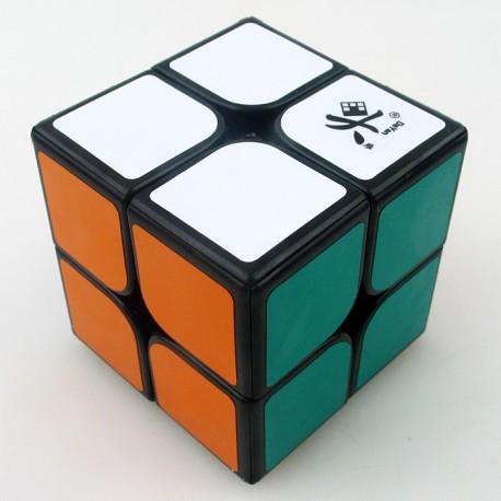 Кубче за скоростно нареждане DaYan ZhanChi 2x2x2 50мм - Черно