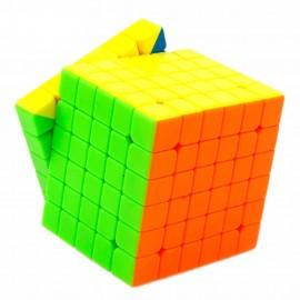 Куб за скоростно нареждане MoYu WeiShi GTS 6x6x6 68мм - Stickerless