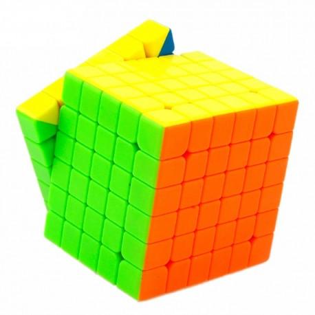 Кубче за скоростно нареждане MoYu WeiShi GTS 6x6x6 68мм - Stickerless