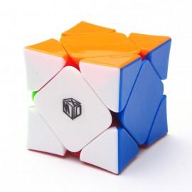 Магически пъзел за скоростно нареждане QiYi X-Man Wingy Skewb Magnetic - Stickerless