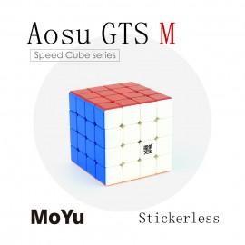 Куб за скоростно нареждане MoYu AoSu GTS M 4x4x4 62мм Magnetic - Stickerless
