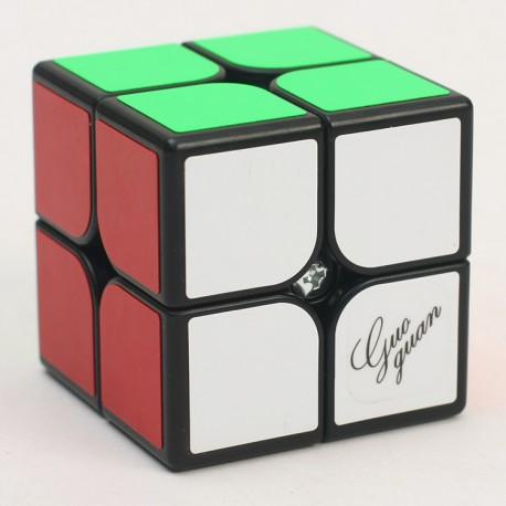 Кубче за скоростно нареждане MoYu GuoGuan Xinghen 2x2x2 50мм - Черно