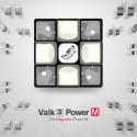 Куб за скоростно нареждане QiYi Valk3 Power M 55.5мм Magnetic - Черен