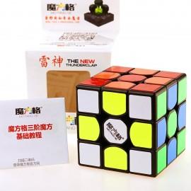 Кубче за скоростно нареждане QiYi MoFangGe Thunderclap V2 56мм - Черно
