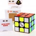 Куб за скоростно нареждане QiYi MoFangGe Thunderclap V2 56мм - Черен
